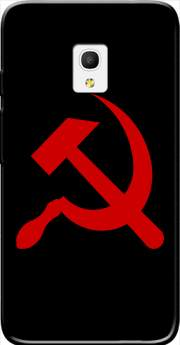 "Communist sickle and hammer Case for Alcatel Pixi 4 (5"") 4G 5045D"