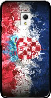 "Croatia Case for Alcatel Pixi 4 (5"") 4G 5045D"