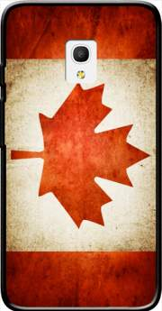 "Canadian Flag Vintage Case for Alcatel Pixi 4 (5"") 4G 5045D"