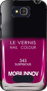 Nail Polish 345 SUSPISIOUS Case for Alcatel One Touch Pop C7
