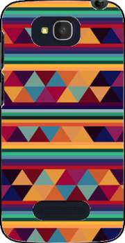 Aztec Pattern Pastel Case for Alcatel One Touch Pop C7
