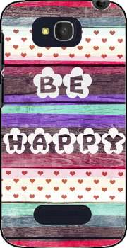 Be Happy Hippie Case for Alcatel One Touch Pop C7