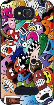 Cartoon Case for Alcatel One Touch Pop C7