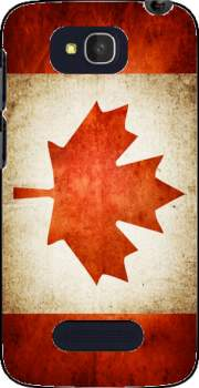 Canadian Flag Vintage Case for Alcatel One Touch Pop C7