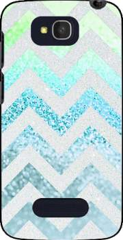 FUNKY CHEVRON BLUE Case for Alcatel One Touch Pop C7