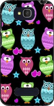 funky owls Case for Alcatel One Touch Pop C7
