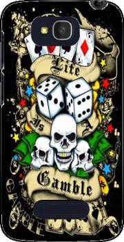 Love Gamble And Poker Case for Alcatel One Touch Pop C7