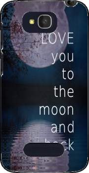 I love you to the moon and back Case for Alcatel One Touch Pop C7