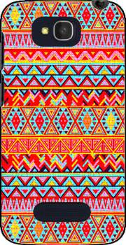 India Style Pattern (Multicolor) Case for Alcatel One Touch Pop C7