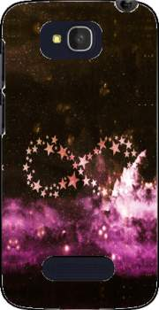 Infinity Stars purple Case for Alcatel One Touch Pop C7