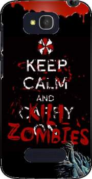 Keep Calm And Kill Zombies Case for Alcatel One Touch Pop C7