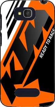 KTM Racing Orange And Black Case for Alcatel One Touch Pop C7