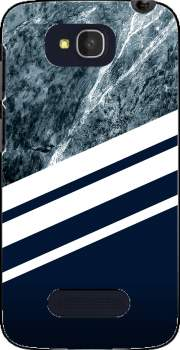 Marble Navy Case for Alcatel One Touch Pop C7