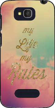 My life My rules Case for Alcatel One Touch Pop C7