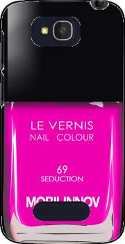 Nail Polish 69 Seduction Case for Alcatel One Touch Pop C7