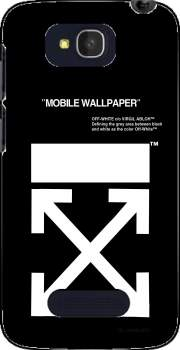 Off White Alcatel One Touch Pop C7 Case