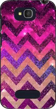 PARTY CHEVRON GALAXY  Case for Alcatel One Touch Pop C7