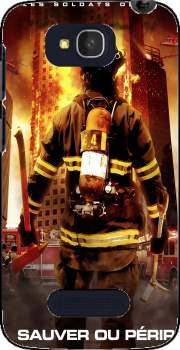 Save or perish Firemen fire soldiers Case for Alcatel One Touch Pop C7