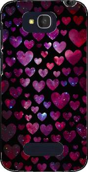Space Hearts Case for Alcatel One Touch Pop C7
