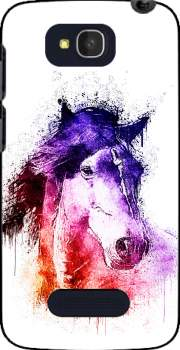 watercolor horse Case for Alcatel One Touch Pop C7