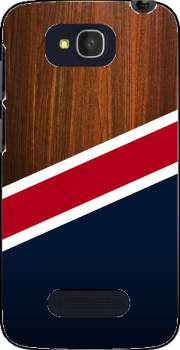 Wooden New England Case for Alcatel One Touch Pop C7