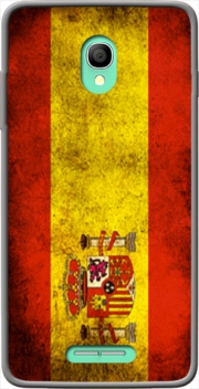 Flag Spain Vintage Case for Alcatel One Touch POP Star 3G