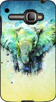 watercolor elephant Case for Alcatel One Touch X'Pop