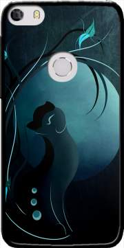 Sensual Cat in the Moonlight  Case for Alcatel Idol 5