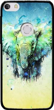 watercolor elephant Case for Alcatel Idol 5