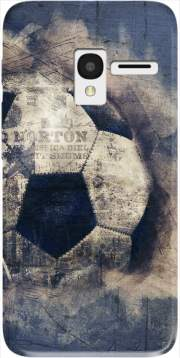 Abstract Blue Grunge Football Alcatel Pixi 3 4.5 3G 4027X Case