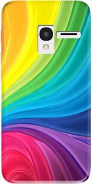 Rainbow Abstract Case for Alcatel Pixi 3 4.5 3G 4027X