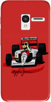 Ayrton Senna Formule 1 King Case for Alcatel Pixi 3 4.5 3G 4027X