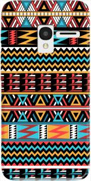 aztec pattern red Tribal Case for Alcatel Pixi 3 4.5 3G 4027X