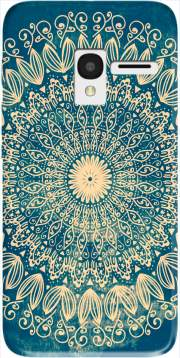 Blue Organic boho mandala Case for Alcatel Pixi 3 4.5 3G 4027X