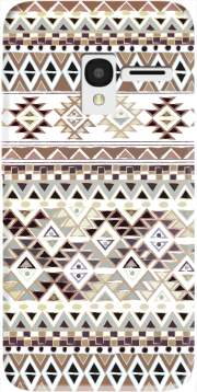 BROWN TRIBAL NATIVE Case for Alcatel Pixi 3 4.5 3G 4027X
