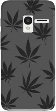 Cannabis Leaf Pattern Case for Alcatel Pixi 3 4.5 3G 4027X