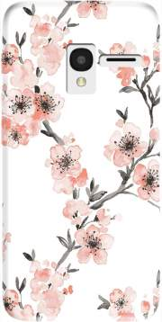 Cherry Blossom Aquarel Flower Alcatel Pixi 3 4.5 3G 4027X Case