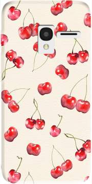 Cherry Pattern Case for Alcatel Pixi 3 4.5 3G 4027X