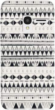Ethnic Candy Tribal in Black and White Case for Alcatel Pixi 3 4.5 3G 4027X