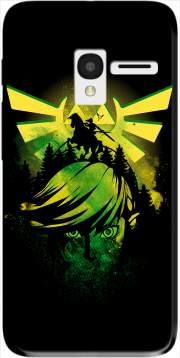 Face of Hero of time Case for Alcatel Pixi 3 4.5 3G 4027X
