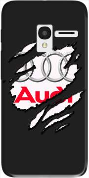 Fan Driver Audi GriffeSport Case for Alcatel Pixi 3 4.5 3G 4027X