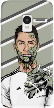 Football Legends: Cristiano Ronaldo - Real Madrid Robot Case for Alcatel Pixi 3 4.5 3G 4027X