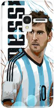 Football Legends: Lionel Messi World Cup 2014 Case for Alcatel Pixi 3 4.5 3G 4027X
