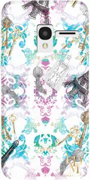 Foulard Case for Alcatel Pixi 3 4.5 3G 4027X