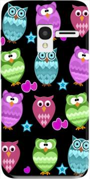 funky owls Case for Alcatel Pixi 3 4.5 3G 4027X