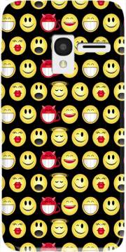 funny smileys Case for Alcatel Pixi 3 4.5 3G 4027X