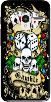 Love Gamble And Poker Case for Alcatel Pixi 3 4.5 3G 4027X