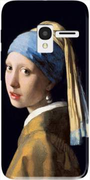 Girl with a Pearl Earring Case for Alcatel Pixi 3 4.5 3G 4027X