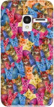 Cats Haribo Case for Alcatel Pixi 3 4.5 3G 4027X