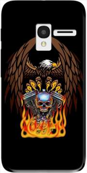 Harley Davidson Skull Engine Case for Alcatel Pixi 3 4.5 3G 4027X